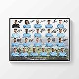 Poster Manchester City Premier League Champions