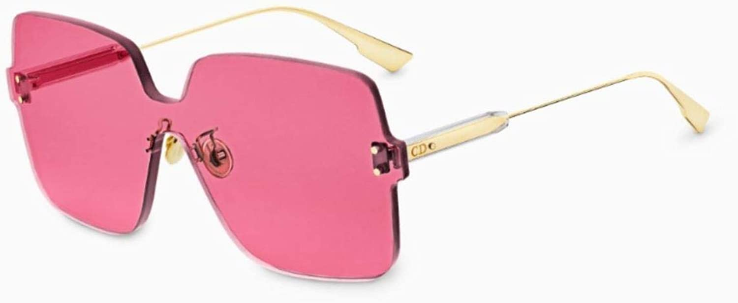 Dior Authentic Christian color Quake 1 MU1U1 gold Pink Sunglasses