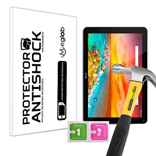 Protector de Pantalla Anti-Shock Anti-Golpe Anti-arañazos Compatible con Tablet SPC Dark Glee 101