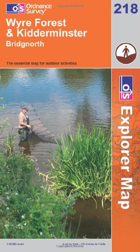 OS Explorer map 218 : Kidderminster & Wyre Forest