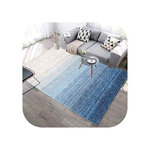 Carpet Chair Mat | Abstract Geometric Lines Green Carpet for Living Room Sofa Coffee Table Marble Print Rug Blue Washable Floor Mat Room Decor-04-400x600mm