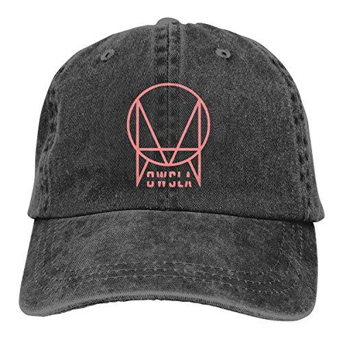 JorgAkem Pink Skrillex Recess Owsla Design Denim Caps for Mens Womens Baseball Hats Summer Casquette Black