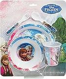BBS Frozen Set da Tavola, Melamina/Polystirene, Multicolore, 5 unità...