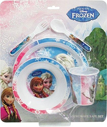 BBS Frozen Set de vajillas para microondas, Azul, 33,5 x 28,5 x 9,5 cm