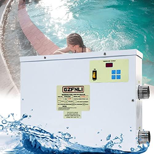BoomSKLK Fachmann Pool Wärmepumpe, 45KW Luftwarmepumpe Poolheizung, Schnelles Aufheizen, Super fürs Schwimmbad (Size : 380V 45KW)