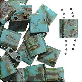 Miyuki rocailles tube 22g 8//0 l/'écume de mer cristal doublé