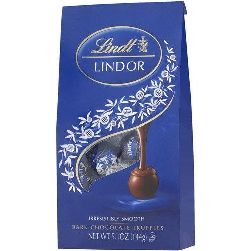Lindt Lindor Dark Chocolate Truffle Ball, 5.1 oz