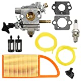 Venseri BR600 Carburetor with Air Filter Fuel Line Kit Fit BR550 BR500 Backpack Blower C1Q-S183 Carb 4282-120-0606 4282-120-0607 4282-120-0608