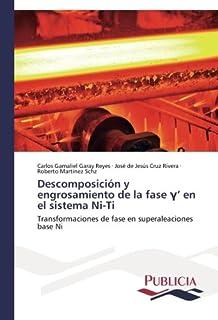 Descomposición y engrosamiento de la fase γ en el sistema Ni-Ti: Transformaciones