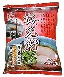 藤原製麺 旭川梅光軒 三方麺醤油 108g×10袋