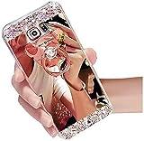 Miagon Coque pour Samsung Galaxy A30S,Cristal Paillette Glitter Strass...