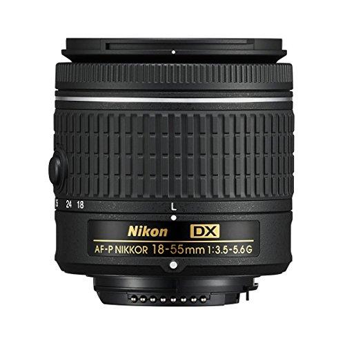 Nikon AF-P DX NIKKOR 18-55 mm f/3.5-5.6G - Obiettivo per fotocamere DSLR Nikon (Ricondizionato)