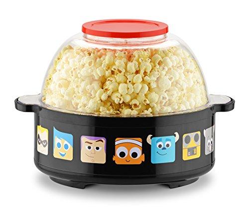Disney Pixar Collection Stir Popcorn Popper, One Size, Black