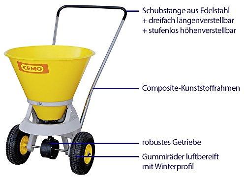 Cemo Streuwagen SW 35-C inkl. Abdeckung – TOP Angebot;;;;; - 2