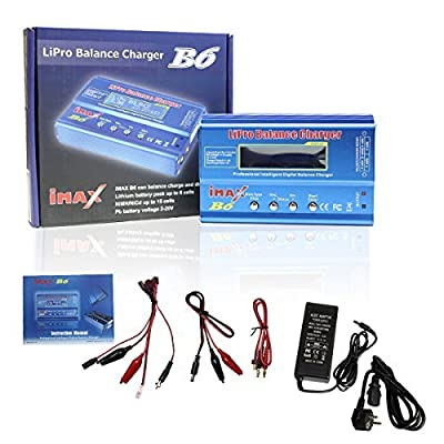 HG Battery Balance Charger Professional Discharger for Multi-axis Aircraft Car Model Model Airplane LiPo Lilon LiFe