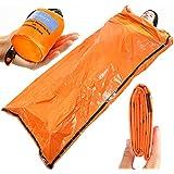 ビヴィ 非常用寝袋 90%の体熱を保つ 防水 防風 保温に役立つ ヒートシート 1個