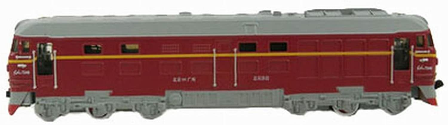 Simulation Locomotive Toy Model Trains Toy Train, Red (2345.5CM)