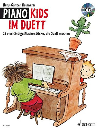 Piano Kids im Duett: 22 vierhändige Klavierstücke, die Spaß machen. Klavier 4-händig. Ausgabe mit CD.: Vierhändige Stücke, die Spass machen