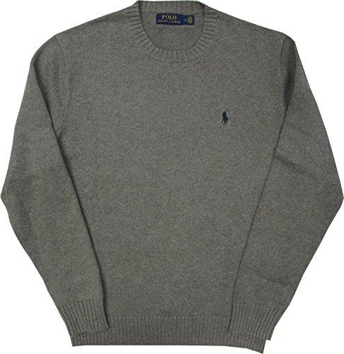 Ralph Lauren Pullover Baumwolle Grau Grey Gr. M
