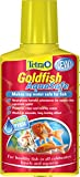 Tetra Goldfish AquaSafe to Turn Tap Water into Safe and Healthy Water for Goldfish, 100 ml
