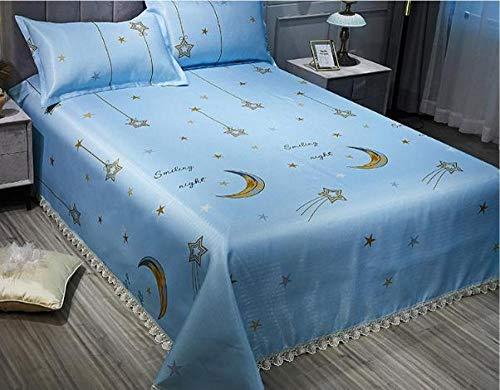 KIKIGO Ice Silk Air Conditioning Mat,Summer ice silk mat, cool sense ice silk mat, foldable, washable-A23_180*230cm(6 * 7.5ft)