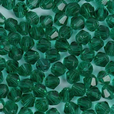 NO LOGO HHTC Color Mix Perles de Cristal Collier Lasso Perles Toupie Facettes Bijoux de Pierre Boucles d'oreilles en Verre Spacer Charms Accessoires (Couleur : Argent)
