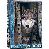 EuroGraphics Gray Wolf 1000pcs Puzzle - Rompecabezas (Puzzle Rompecabezas, Animales, Niños y...