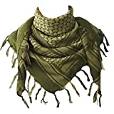 Explore Land Cotton Shemagh Tactical Desert Scarf Wrap (Foliage)