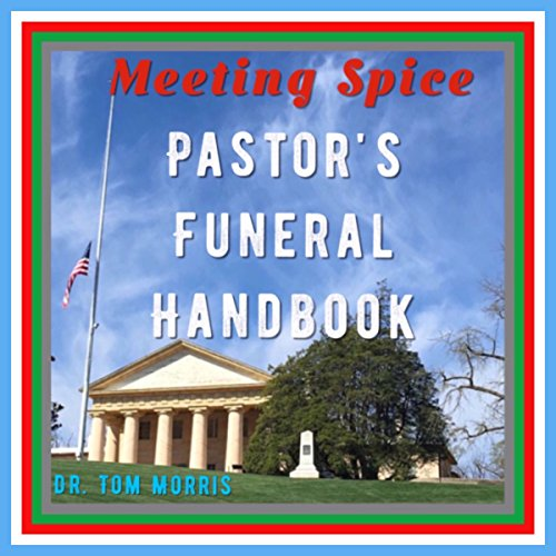 Meeting Spice Pastor's Funeral Handbook audiobook cover art