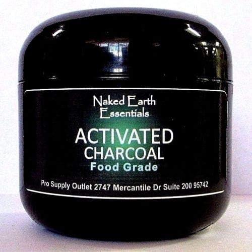 Activated Charcoal Food Grade Hardwood Dervided J 1oz depot trend rank 8oz Jar to