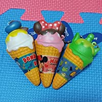 アイスクリームスクイーズ。3個セット。