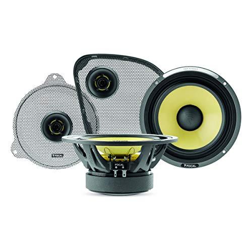 """Focal HDK 165-2014 UP 6-1/2"""" 2-Way Kevlar Component Speaker System for Select Harley Davidson Motorcycles"""