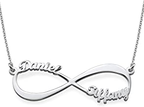 Best sterling silver eternity necklace Reviews