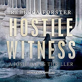 Hostile Witness: A Josie Bates Thriller audiobook cover art