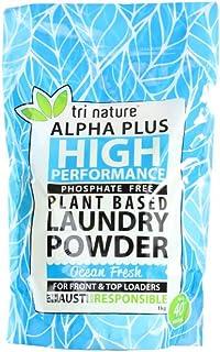 Tri Nature Alpha Plus Ocean Fresh Laundry Powder Soft Pack, 1 kilograms