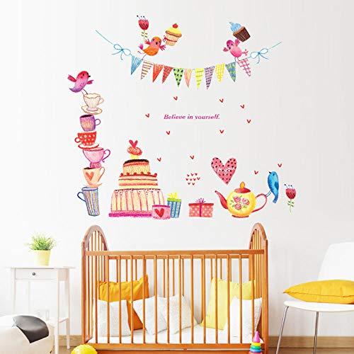 6D Papel PintadoPegatinas de Pared de ladrillo de - Pegatinas extraíbles para decoración de fondo de dormitorio de habitación de niños