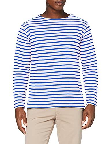 Armor Lux Herren Marinière Houat Héritage Homme T-Shirt, Mehrfarbig (weiß Dw5 weiß/Stern weiß Dw5 weiß/Stern), XL