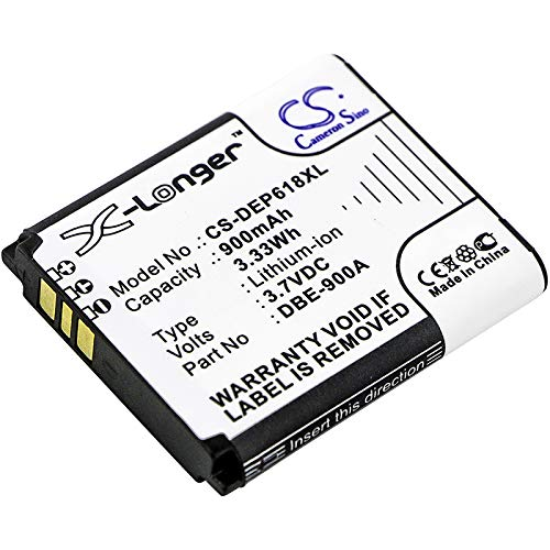 Battery Replacement for Doro Phoneeasy 618 Part NO DBE-900A