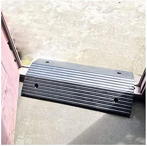 Rampas Bordillo, Rampas de entrada portátiles, Rampa Umbral para Puerta, Rampas PortáTiles para Puertas, Interiores Y Exteriores para El Hogar, Escaleras ( Size : 80*50*10cm/31.4*19.6*3.9in )