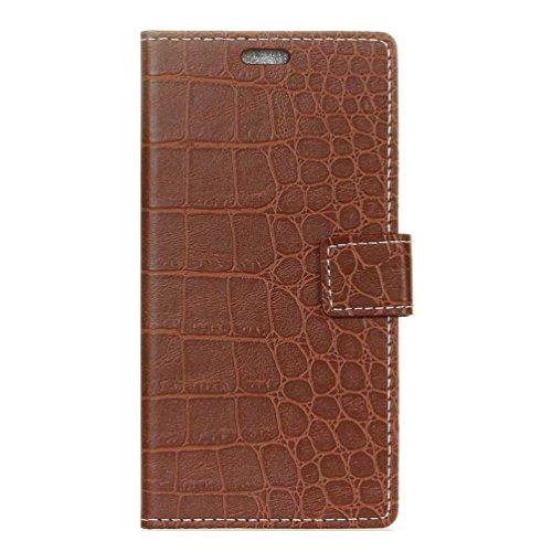 PU Leder Etui Hülle im Bookstyle Handy Tasche für Doogee X20 / X20L Schutzhülle Schale Flip Cover Wallet Hülle (KZN-24#)