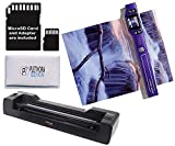Vupoint ST470 Magic Wand Portable Scanner w/Auto-Feed Docking Station (Purple) (Renewed)