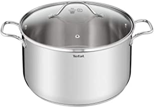 TEFAL Intuition 28cm Stewpot plus Lid, Stainless Steel Induction - B9086414
