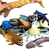 Ocean Sea Animal,8 Inch Rubber Bath Toy Set(8...