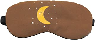 Fascigirl Sleeping Mask Eye Mask Cartoon Moon Breathable Eye Mask Eye Shade With Ice Pack For Office