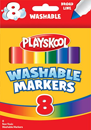 Playskool Washable Jumbo Markers (8-Count)