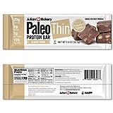 Julian Bakery Paleo Thin Protein Bars (Almond Fudge)(Grass-Fed Beef)(1 Net Carb)(1g Sugar) (12 Bars)