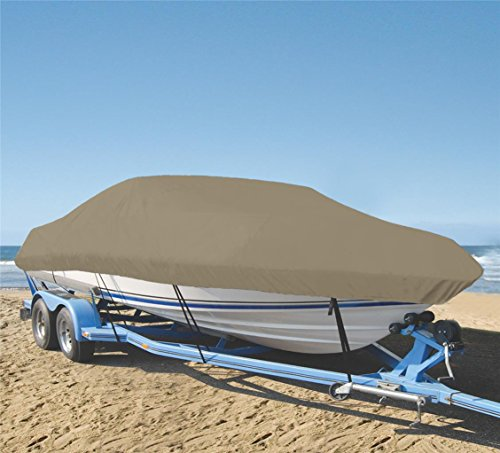 Great Price! SHT-SBU 9 oz Boat Cover Custom Cover Exact FIT for Bayliner 95 Deckboat Walk Thru 2017