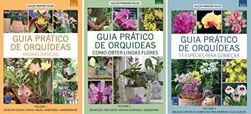 Coleção Guia Prático de Orquídeas (3 volumes)