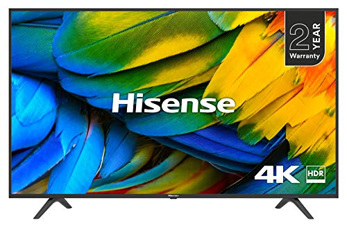 HISENSE H55B7100UK 55-Inch 4K UHD HDR Smart TV with Freeview Play (2019)