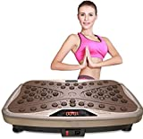 GUO Multifunctional vibration massager for household u Oscillating Platform, Slimming Machine Home Lazy Vibration Power Plates for Weight Loss Exercise Trainer Foot massager relieves fatigue.